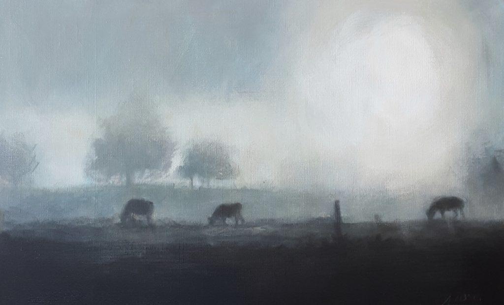 Acryl on canvas 80×50 cm Småland